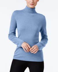 Charter Club Cashmere Turtleneck Sweater Only At Macy's 16 Colors Available Dusty Robin