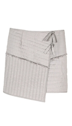 Tibi Juna Quilted Mini Skirt