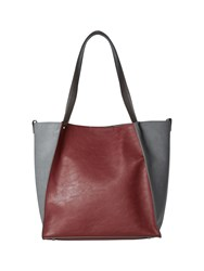 White Stuff Townhouse Shopper Plum