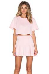 Toby Heart Ginger Set Me Up Top And Skirt Set Pink