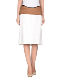 Agnona Knee Length Skirts