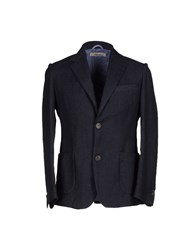True Tradition Suits And Jackets Blazers Men Dark Blue