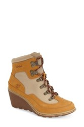 Timberland 'Amston' Wedge Hiking Boot Women Brown