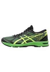 Asics Gelds Trainer 21 Lightweight Running Shoes Black Safety Yellow Green Gecko