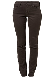 Nydj Slim Fit Jeans Smokey Taupe Brown
