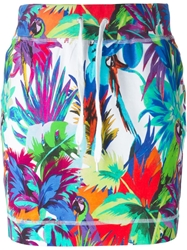 Love Moschino Tropical Print Skirt