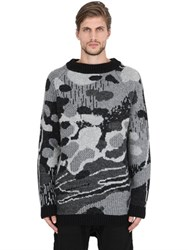 11 By Boris Bidjan Saberi Wool And Alpaca Blend Jacquard Sweater