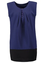 Ikks Summer Dress Indigo Dark Blue