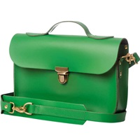 N'damus London Trilogy Emerald Rucksack And Satchel Small Green
