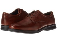 Rockport Dressports 2 Light Apron Toe New Brown Leather Men's Shoes