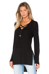Free People Criss Cross Top Black