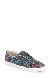 Bucketfeet 'Botanical' Slip On Sneaker Women Navy Canvas