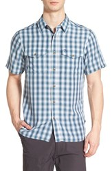 Fjall Raven Men's Fj Llr Ven 'Abisko Cool' Regular Fit Plaid Sport Shirt