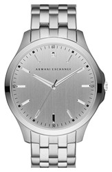 Men's Ax Armani Exchange 'Hampton' Bracelet Watch 46Mm