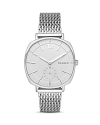 Skagen Rungsted Mesh Bracelet Watch 34Mm Silver
