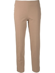 Brunello Cucinelli Ankle Length Trousers Pink And Purple