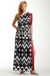 L.A.M.B. Scarf Maxi Dress Multi