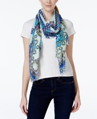 Inc International Concepts Printed Wrap Only At Macy's Blue