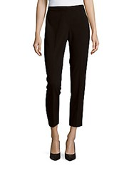 T Tahari Cameron Cropped Pants Black