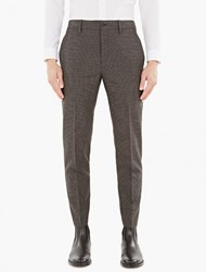 Acne Studios Checked Wool Stan T Trousers