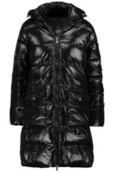 Pyrenex Authentic Quilted Glossed Shell Down Coat Black