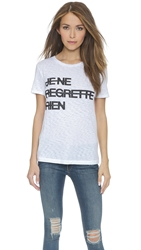 Rag And Bone Je Ne Regrette Rien Boyfriend Tee Bright White
