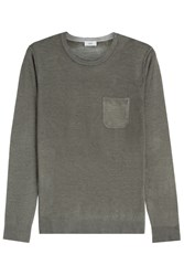 Closed Wool Cashmere Pullover Green