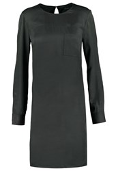 Marc O'polo Summer Dress Dark Charcoal Anthracite