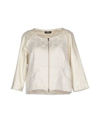Soallure Jackets White