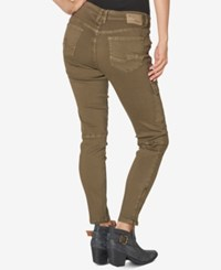 Silver Jeans Co. Cargo Black Wash Skinny Olive