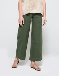 Jesse Kamm Sailor Pant In Olive