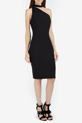 Iro X Anja Rubik Solly Asym Belt Neck Dress Black