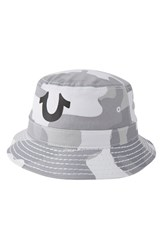 Men's True Religion Brand Jeans Camo Bucket Hat