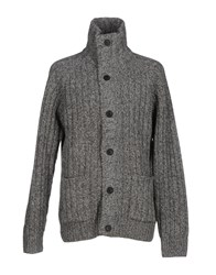 Gant Knitwear Cardigans Men Grey
