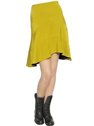 Just Cavalli Stretch Viscose Jersey Skirt