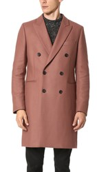 Paul Smith Double Breasted Tailored Coat Rose