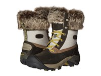 Keen Hoodoo Iii Low Waterproof Gargoyle Warm Olive Women's Waterproof Boots Gray