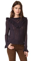 Ulla Johnson Maritza Cashmere Pullover Raisin