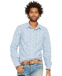 Denim And Supply Ralph Lauren Floral Print Cotton Workshirt