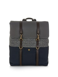 Mismo M S Tweed And Canvas Backpack