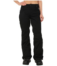 686 Authentic Patron Insulated Pants Black Herringbone Women's Casual Pants Gray