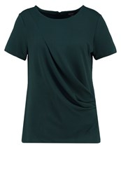 Banana Republic Print Tshirt Deep Hunter Dark Green