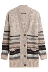 Antik Batik Alpaca Cardigan With Stripes Gr. S