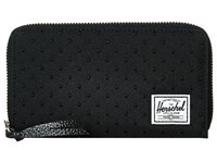 Herschel Thomas With Zipper Black Black Embroidery Polka Dot Wallet Handbags