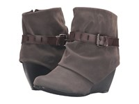 Blowfish Beryl Grey Fawn Steel Grey Dyecut Pu Women's Pull On Boots Brown