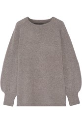 Co Cashmere Sweater Gray