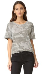Free People Army Tee Green