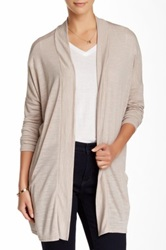 14Th And Union Twisted Melange Cardigan Beige