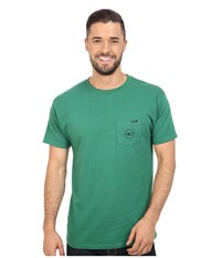 O'neill Jams Short Sleeve Screen Tee Green Men's Short Sleeve Pullover