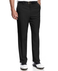 Greg Norman For Tasso Elba 5 Iron Slim Fit Golf Pants Deep Black
